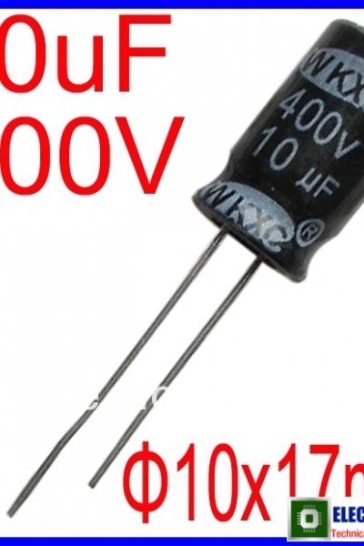 tụ điện10u/400V