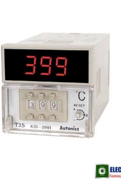 Bộ điều khiển nhiệt độ Autonics T3S