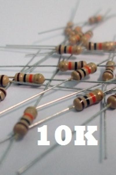 Điện trở 10Kohm - 1/4W