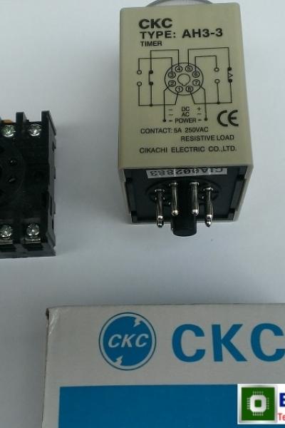 Role thời gian CKC/ AH3-3 / 60M/ 220vAC/ Timer